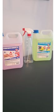 Hand-und Flächendesinfektionsmittel