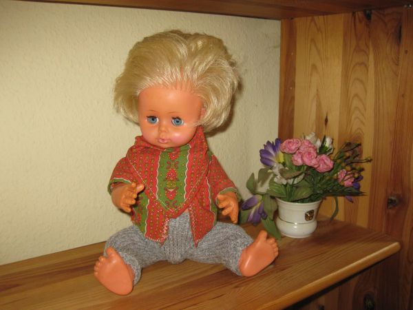 Tolle ZAPF Puppe VINTAGE 41