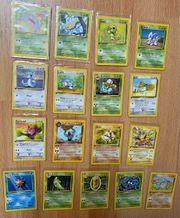 Pokemon Karten 1 Edition German