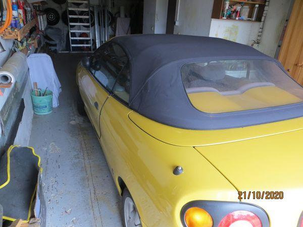 Wunderschönes Cabrio Renault Megane Bj