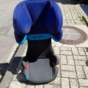 Cybex Autositz Kindersitz schwarz blau