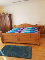 Doppelbett mit Swissflex Lattenrosten mit