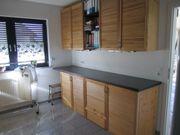 Küchenschränke Kiefermassivholz, Arbeitsplatte