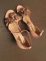 Festliche Sandalette altrosa wie neu