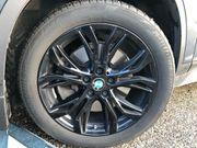 BMW Alufelgen schwarz für X1