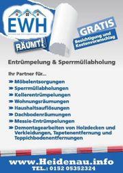 Haushaltsauflösungen Entrümpelungen Heidenau Pirna Dresden