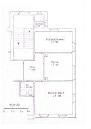 Biete 2 Zimmer Wohnung in