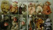 Ty Beanie Babies - Sternzeichen ZODIAC -