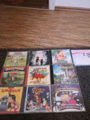 10 verschiedene Kinder CDs