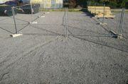 100qm geschotterter eingezäunter Lagerplatz Freifläche