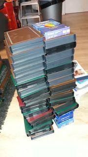 VHS Cassetten