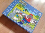 Benjamin Blümchen Puzzle Streichelzoo