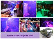 Partybus als Partylocation Partyraum zu