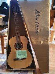 Neue Gitarre von Martinez