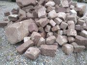 Granit Basalt Sandstein Pflaster Randsteine
