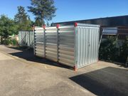 Materialcontainer Lagercontainer Blechcontainer