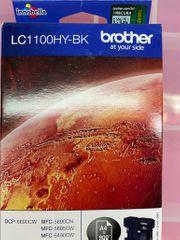 Tintenpatrone BROTHER LC1100HY-BK neu und