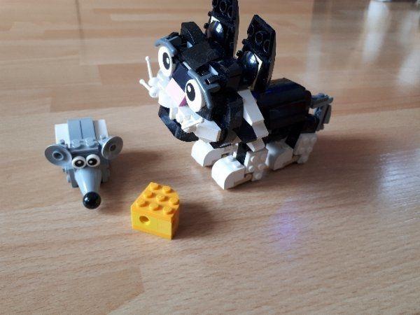 Lego Creator Katze » Spielzeug: Lego, Playmobil