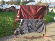 Pferdedecken-Halter - mobiler Pferdedecken-Ständer