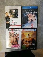 DVDs 4 Stück