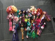 Monster High Puppen in sehr