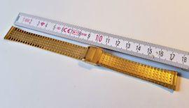 Uhrarmband Edelstahl Vergoldet Metallband NEU: Kleinanzeigen aus Leverkusen - Rubrik Uhren