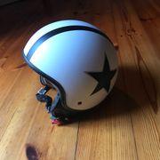 Soxon Motorrad-Helm Schnellverschluss XL 61-62cm