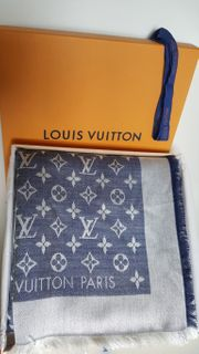 Louis Vuitton Tuch Schal Denim