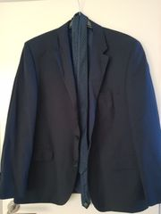 Anzug gebraucht dunkel blau
