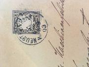 Alte Briefmarken vor dem 1