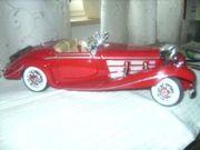 Sammlerauto Rot Mercedes