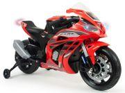 Batterie-Mottorrad Honda CBR - 12V rot