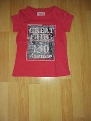 Mädchen T-shirt in 128 getragen
