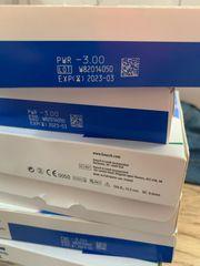 7 Kartons Kontaktlinsen zu je