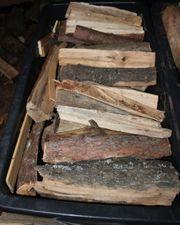 Brennholz Ofenholz 25cm gemischt trocken