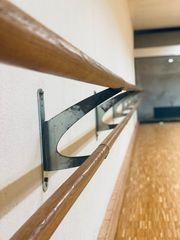 Ballettstange 12m Ballettstangen Doppelreihung massive