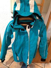 Snowboard Jacke Türkis Größe 42