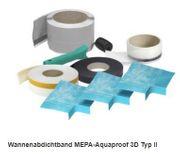 Wannenabdichtband MEPA-Aquaproof 3D Typ II