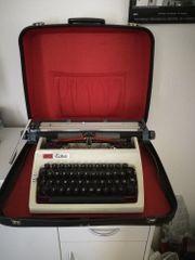 Schreibmaschine Koffer- Marke daro Erika