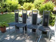 Verkaufe 4 moderne Esszimmer Stühle
