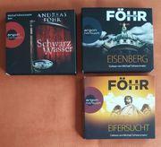 6 Hörbücher Krimisammlung Bestseller Kultkrimis