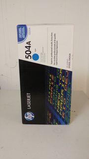 Blauer HP-Originaltoner OVP für LaserJet