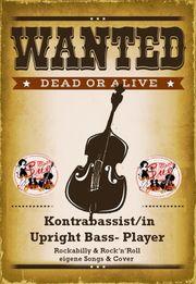 Rockabilly- Rock n Roll-Kontrabass
