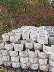 Pflanzsteine grau gebraucht