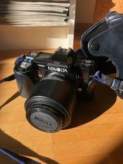 Fotoausrüstung Minolta 7000 AF Spiegelreflex-Kamera