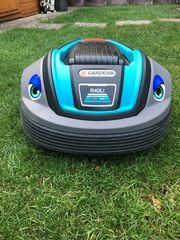 Rasenmäher Roboter wir verlegen für