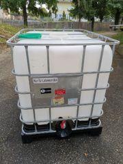 IBC Behälter Wassertank Wasserfaß Lebensmittel