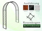 Eisen- Metall- Gartenbogen ROTTERDAM Breite 1