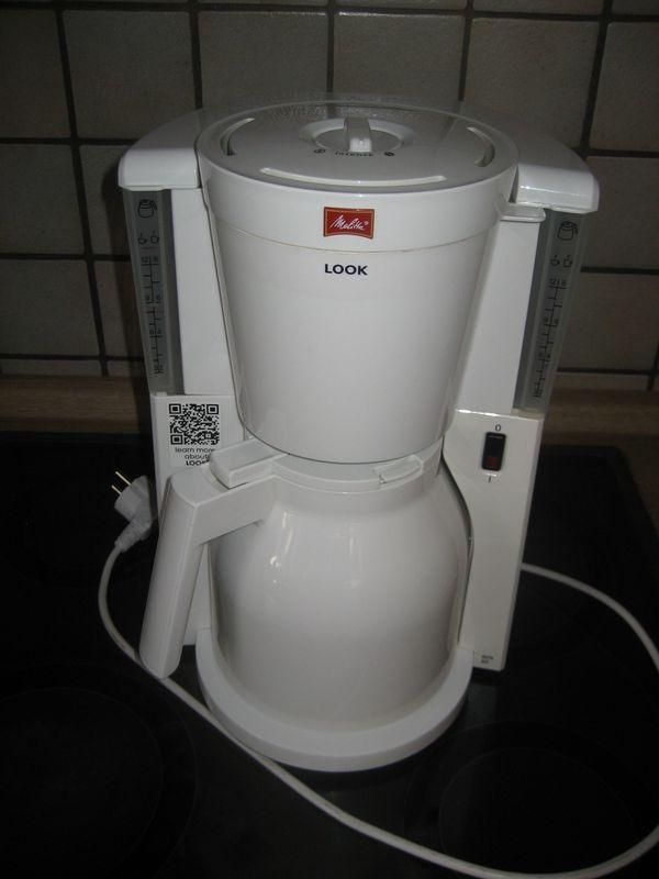 Melitta 1011-09 Filterkaffeemaschine Kaffeemaschine mit