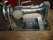 Antike Nähmaschine von Köhler